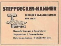 hammer Steppdecken