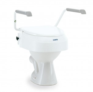 Invacare Aquatec 900 Toilettensitzerhöhung m. Armlehnen