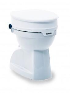 Invacare Aquatec 90 Toilettensitzerhöhung mit Deckel