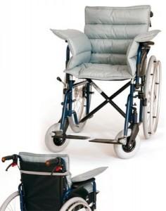 NOVACARE Sitzkissen mit Rückenteil